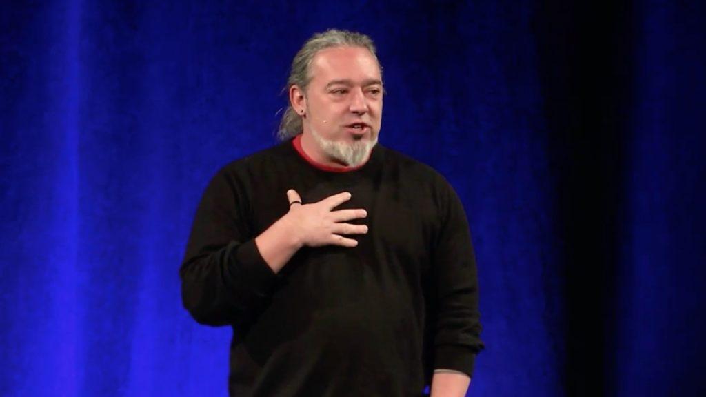 Chris Heuertz speaks at Lipscomb