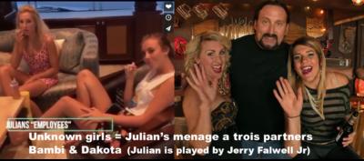 Julian's Employees Falwell Party