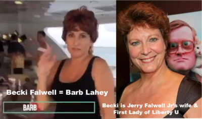 Becki Falwell as Barb Lahey