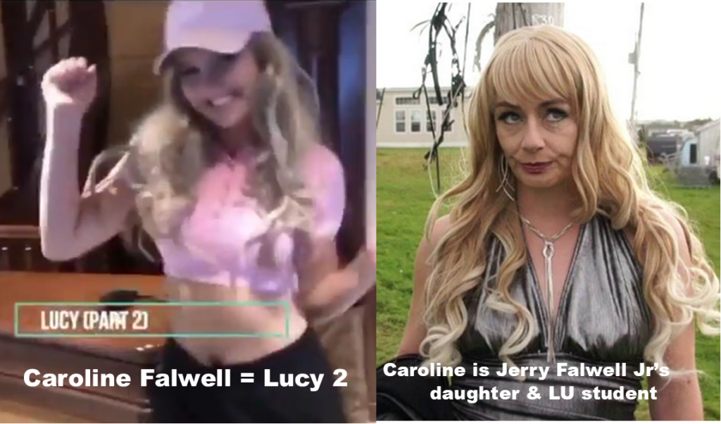 Caroline Falwell as Lucy from Trailer Park Boys