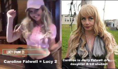 Caroline Falwell as Lucy from Trailer Park Boys