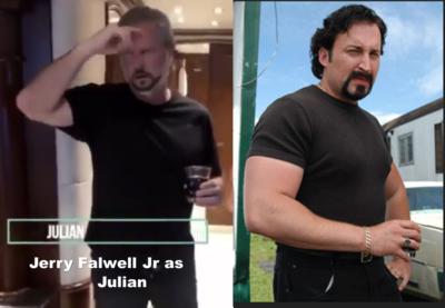 Jerry Falwell Jr as Julian from Trailer Park Boys