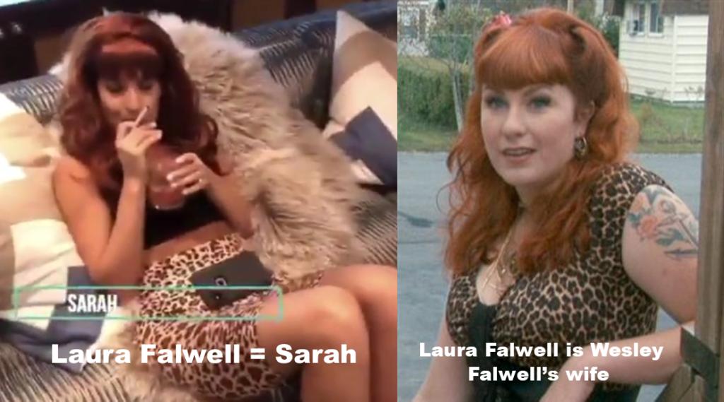 Laura Falwell as Sarah from Trailer Park Boys