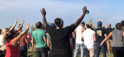 Prayer Gathering in Kenosha, Wisconsin