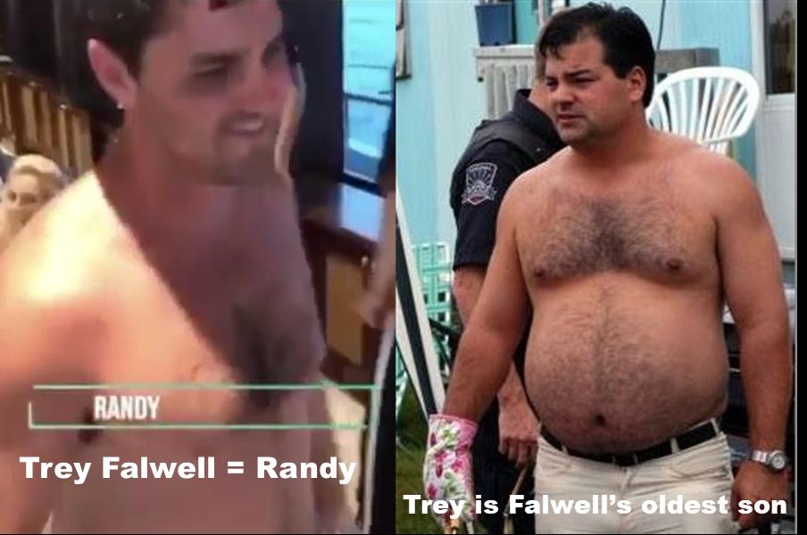 "Jerry ""Trey"" Falwell III as Randy from Trailer Park Boys"