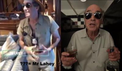 Mr. Lahey Falwell Party