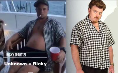 Ricky 2 at Falwell Party