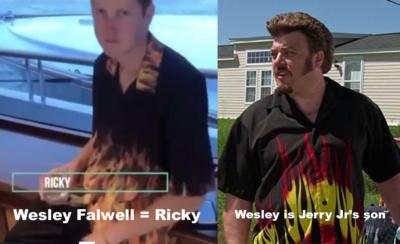 Wesley Falwell as Ricky from Trailer Park Boys