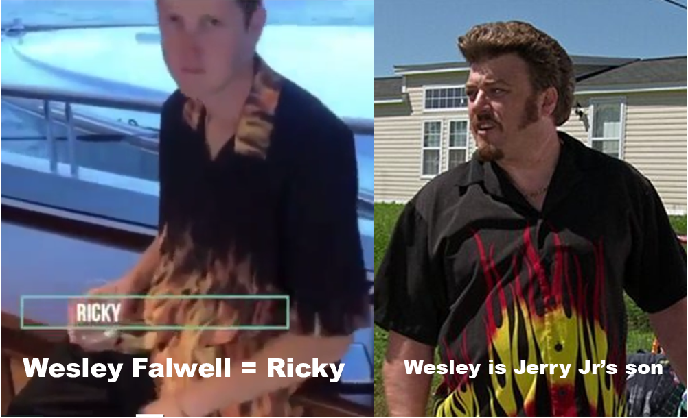Wesley Falwell as Ricky from Trailer Park Boys