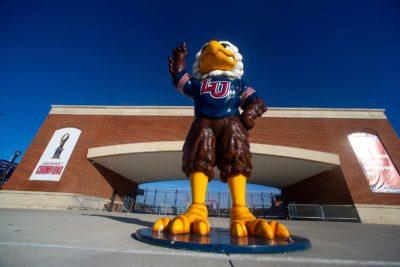 Liberty University Sparky Eagle