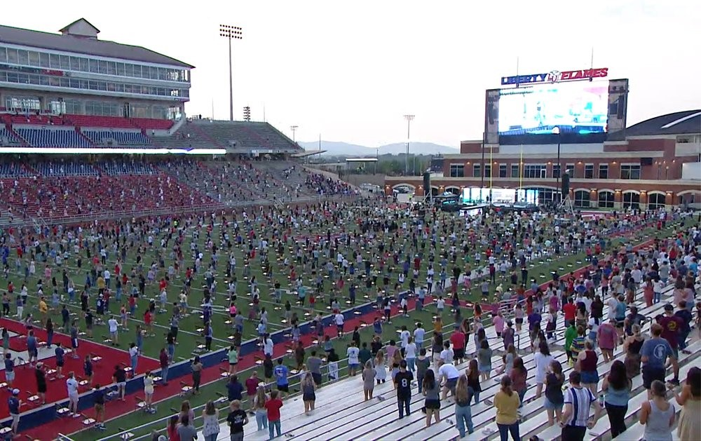 Liberty University Students Williams Stadium