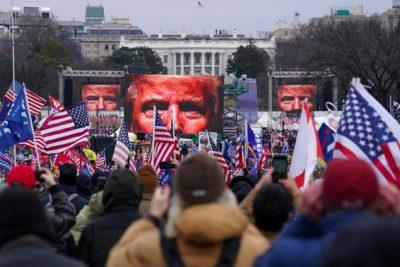 Trump Riot insurrection capitol