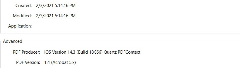 Dox Metadata