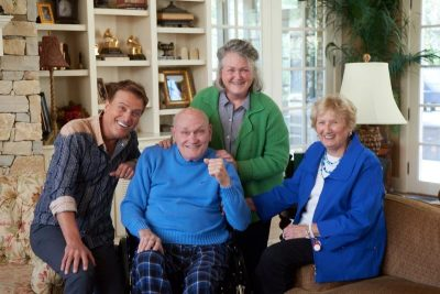 Michael W. Smith and family
