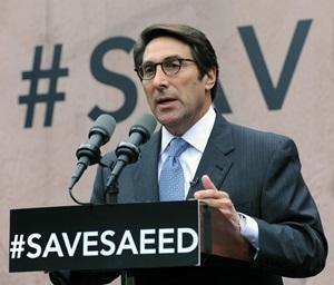 Jay Sekulow ACLJ #SaveSaeed