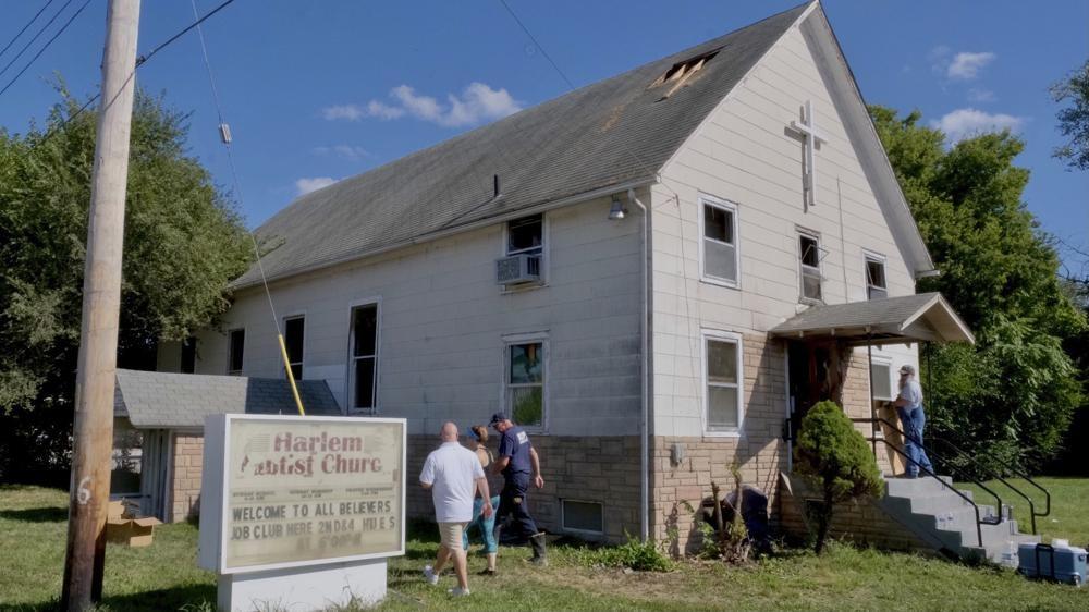 Harlem Baptist Church arson